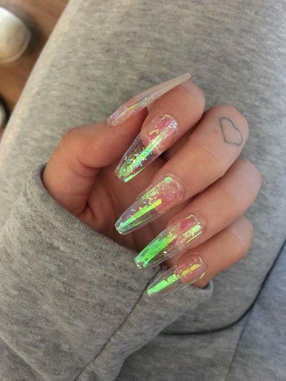 Clear Acrylic Nails Designs Valoblogi Com