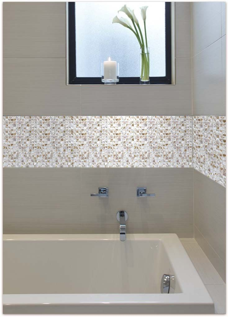 Beautiful Mother Of Pearl Tile For Bathroom Wall Tiles And Kitchen Modern Style Bathroom Easy Bathroom Upgrades Simple Bathroom