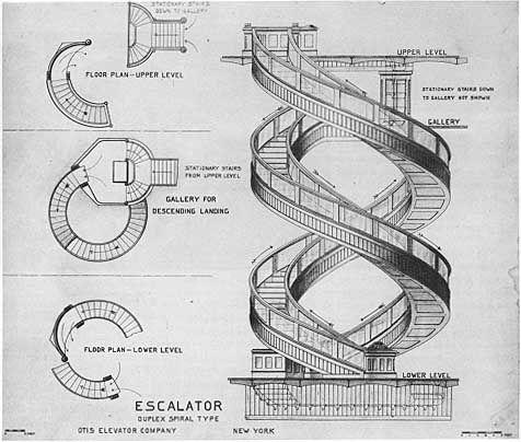 Best Moving Stairways • Escalators Stairways Stairs Cool 400 x 300
