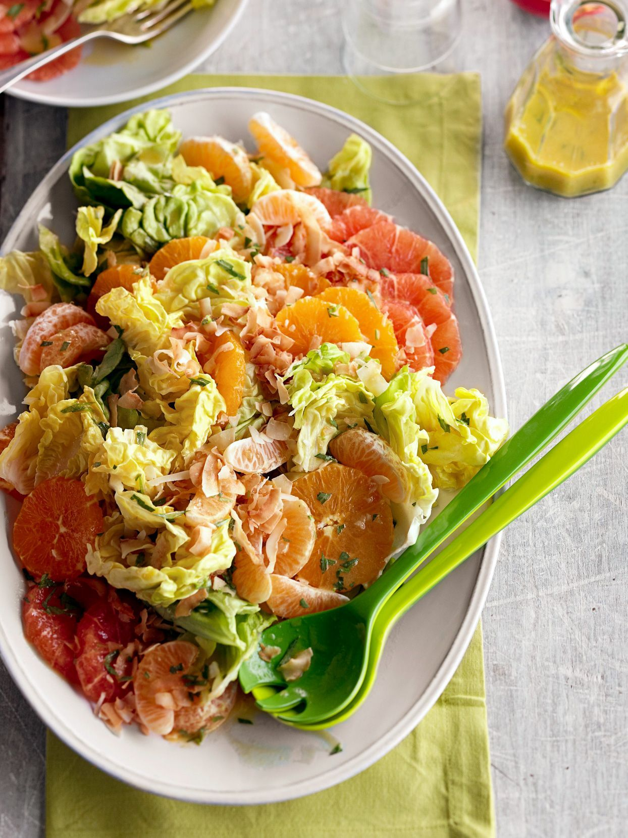 Perk up dinner tonight with a blast of fresh citrus. Celebrate citrus with our favorite savory and sweet lemon, orange, and grapefruit recipes—all doable in 40 minutes or less. #freshrecipes #citrusrecipes #citrusdinners #winter #healthy #bhg
