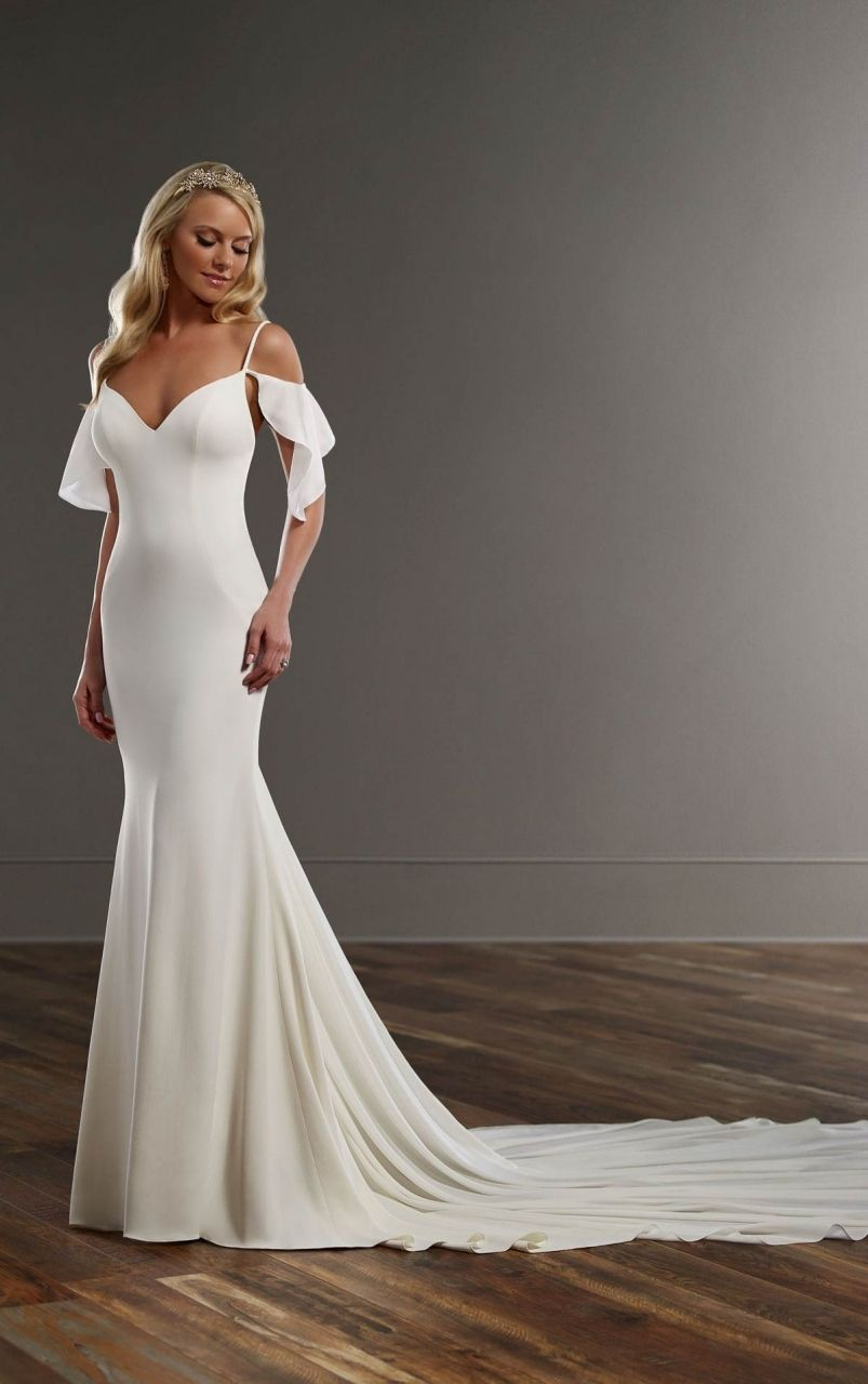 Martina Liana 755 Front Download Casual Wedding Dress Wedding Dresses With Straps Wedding Dresses Satin