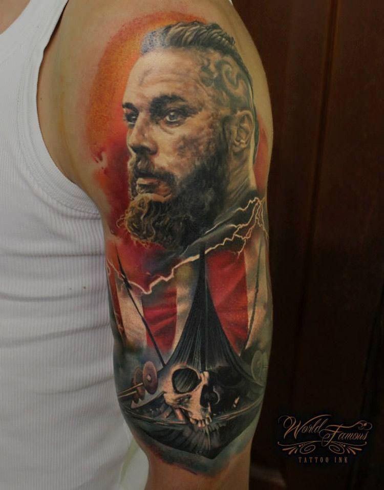 Ragnar Lothbrok | Best tattoo design ideas