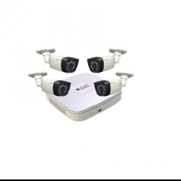 CP Plus 8 CH DVR & 4  Bullet Camera