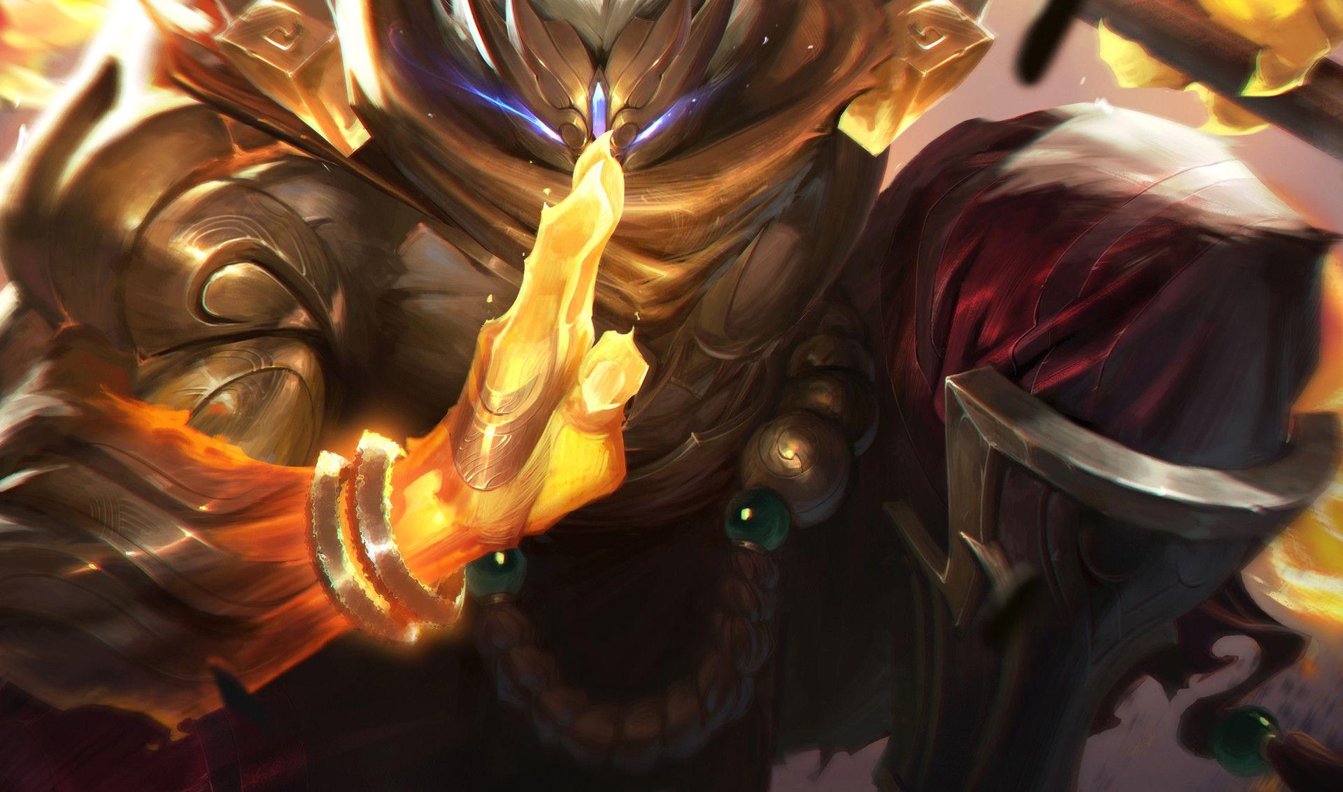 Artstation God Staff Jax League Of Legends Jojo So Lol
