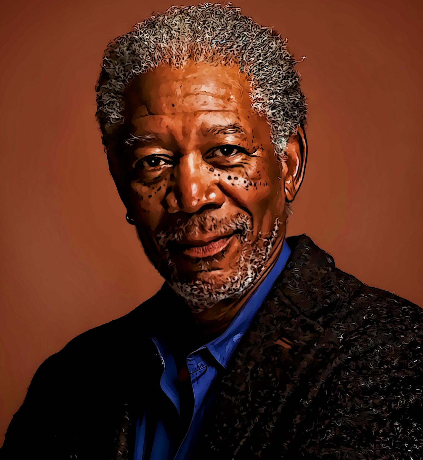 Morgan Freeman Morgan Freeman Celebrity Portraits Actors