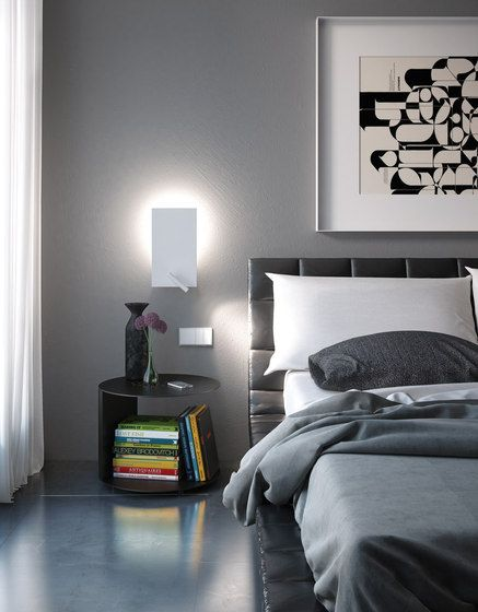 Wall Mounted Lights For Bedroom Pleasing General Lighting  Wallmounted Lights  Flat  Alma Lightcheck It Design Ideas