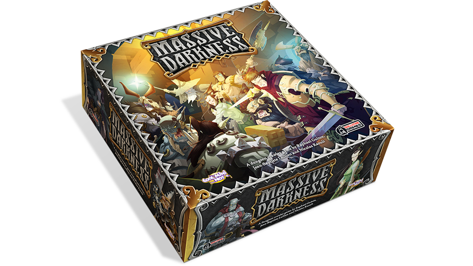 602b740a60e A dungeon crawl board game with no game master. Explore the darkness for  loot and experience, facing hordes of awesome miniatures.