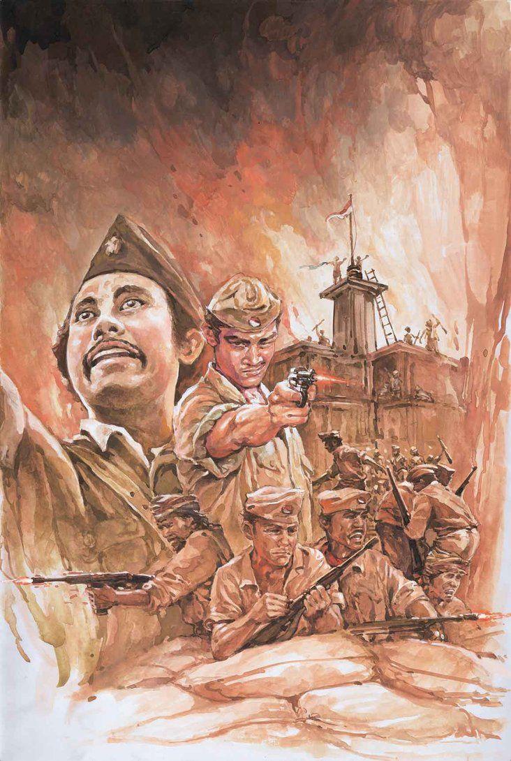 Gambar Gambar Pahlawan Nasional Indonesia Beserta Namanya