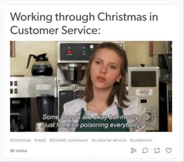 15 Funny Pictures For Those Working Retail During The Holidays Funny Memes About Work Work Humor Work Memes