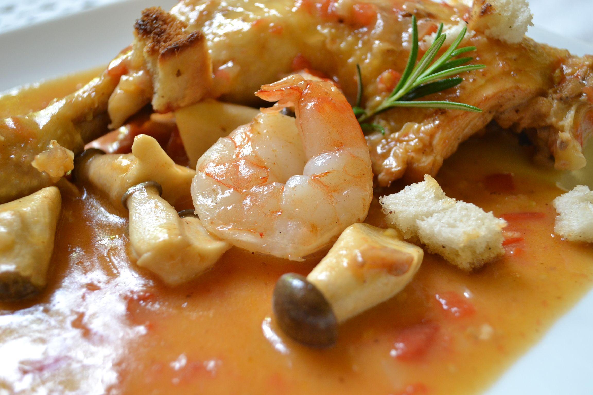 Huhn Marengo | Rezept | französische Küchen, Weißbrot und Hühner