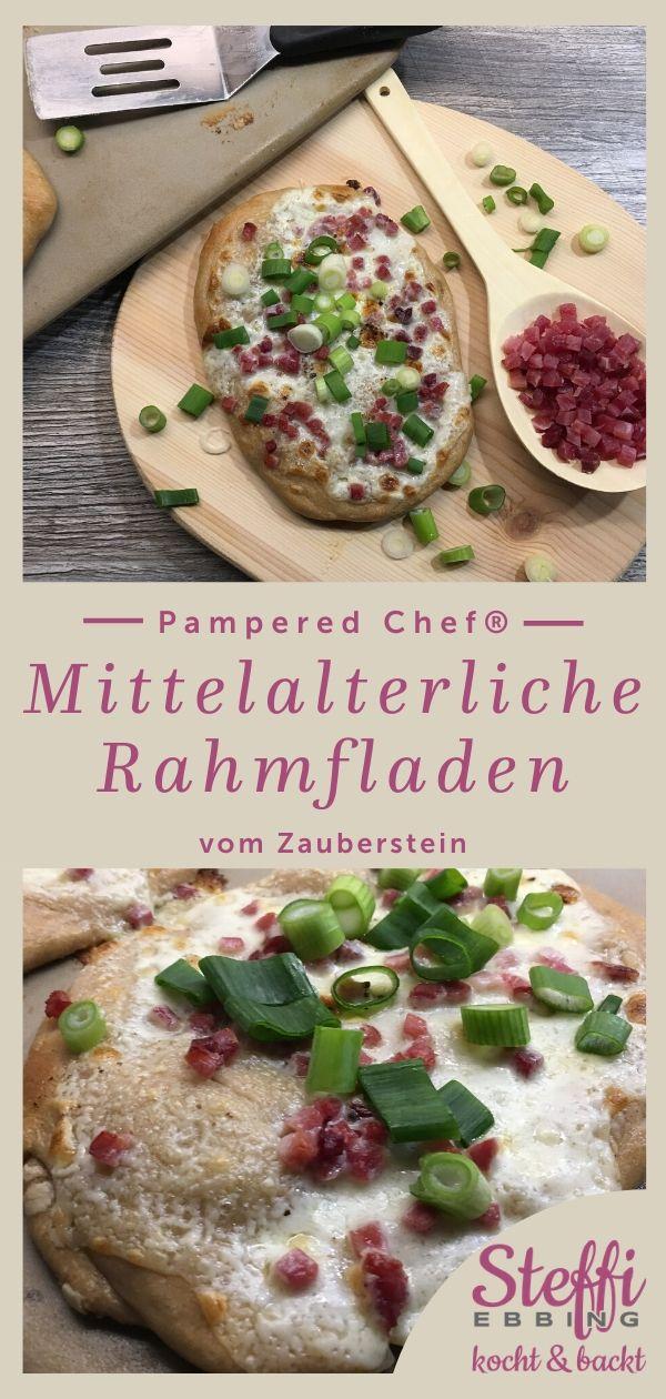 ᐅ Rezept Rahmfladen ⇒ Zauberstein • Pampered Chef