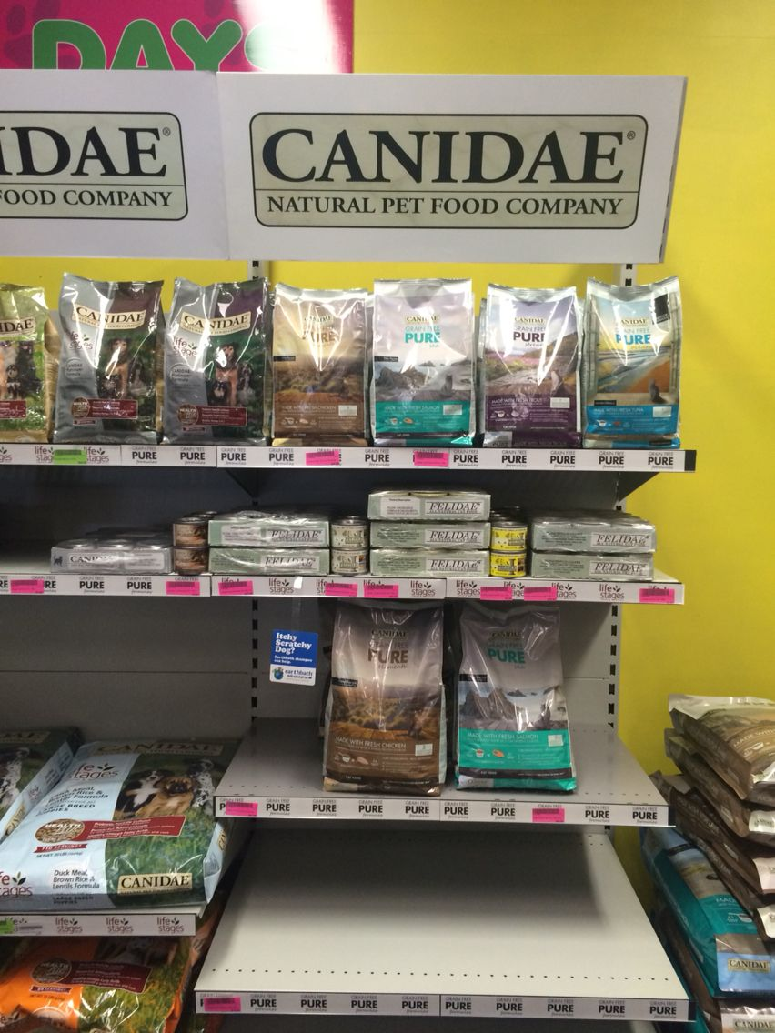 Cat range in store Natural pet food, Company meals, Food