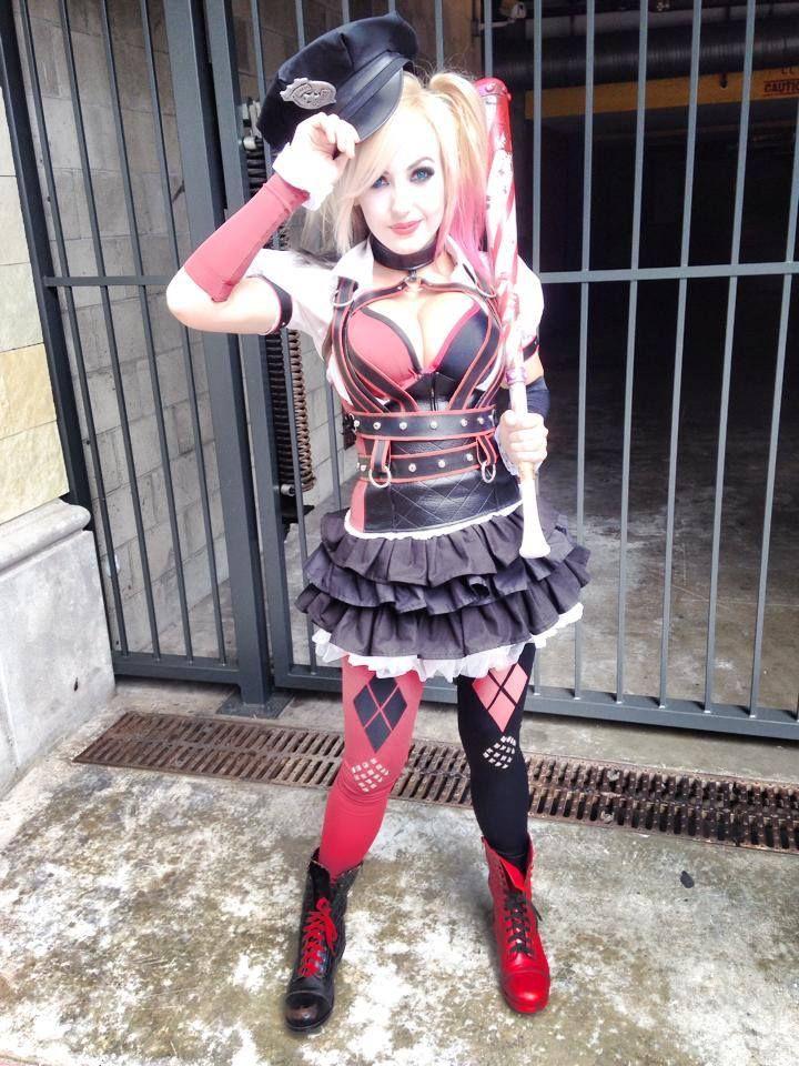 quinn jessica nigri cosplay Harley