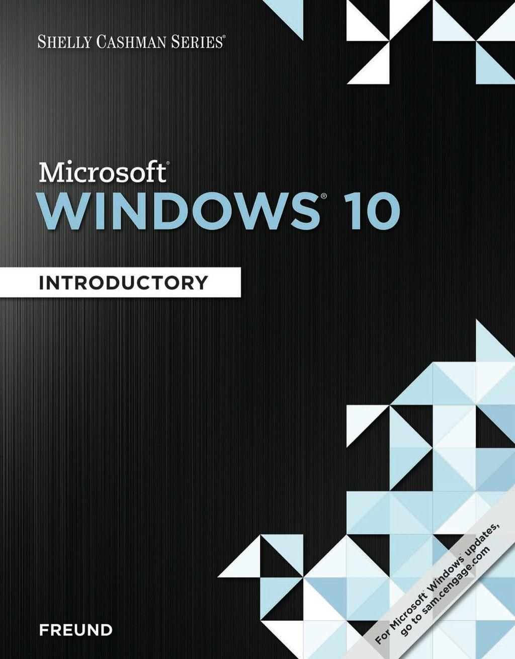 Shelly Cashman Series Microsoft Windows 10 Introductory Ebook Rental Microsoft Windows Windows 10 Microsoft