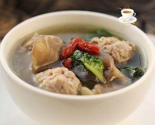 Chinese pork meatball soup recipe