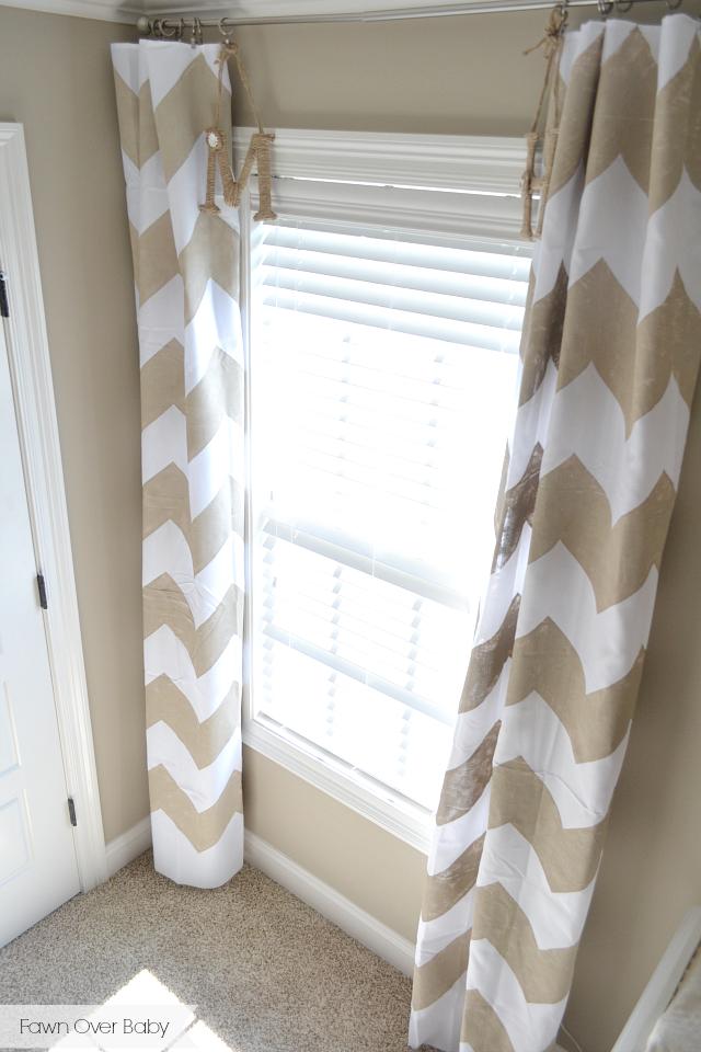 DIY: No-Sew Chevron Curtains | Chevron curtains, Curtains ...