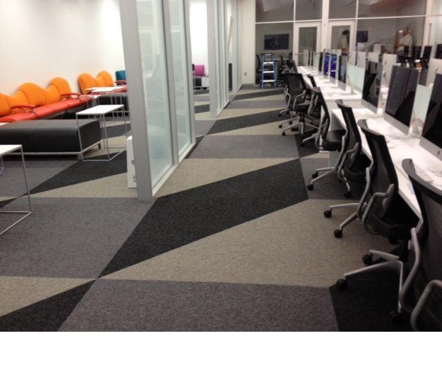Pet Friendly Decorating Flor Carpet Tiles: Multiple Colors / A Grey And Black