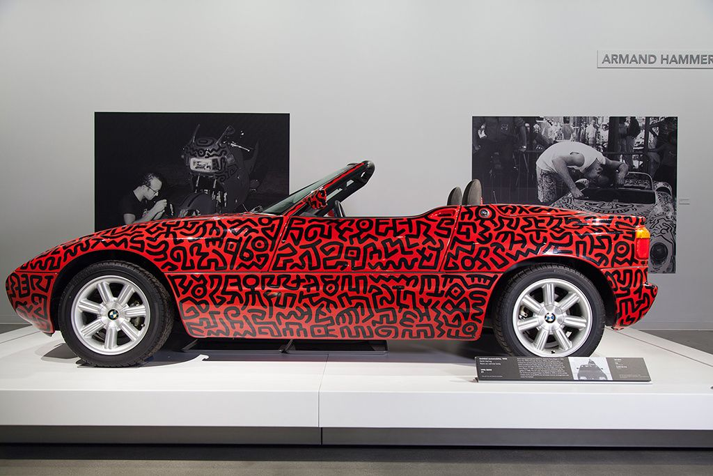 Keith Haring Uses Cars as Canvases in Latest Exhibition