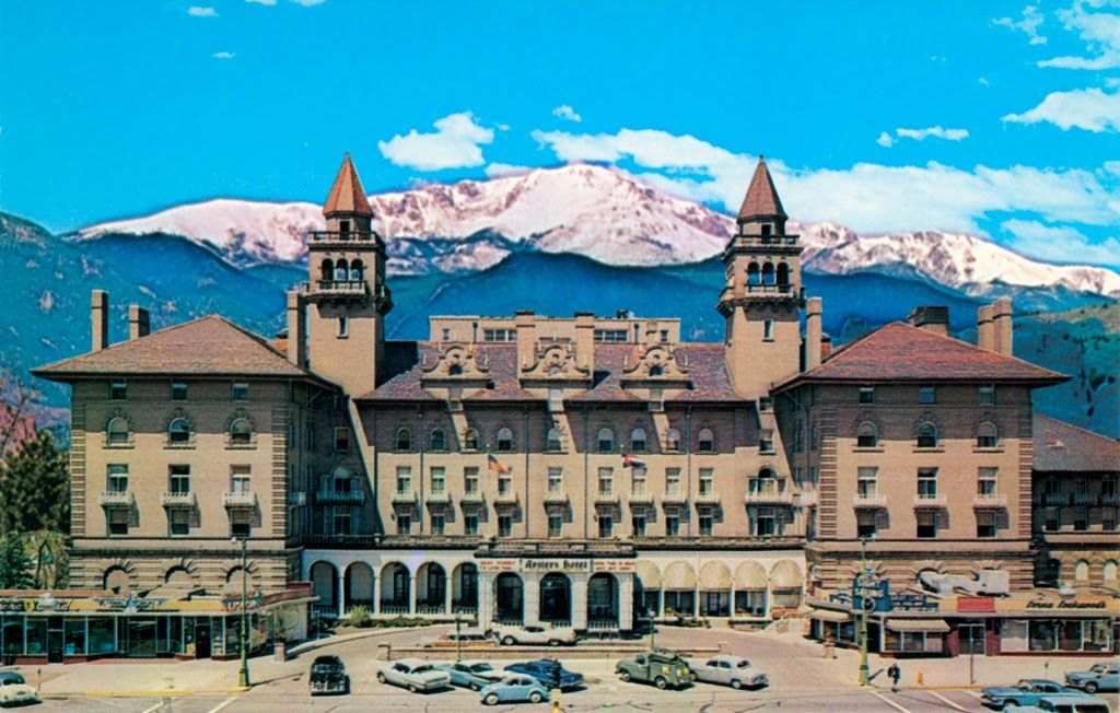 You Remember The Real Antlers Hotel In Colorado Springs