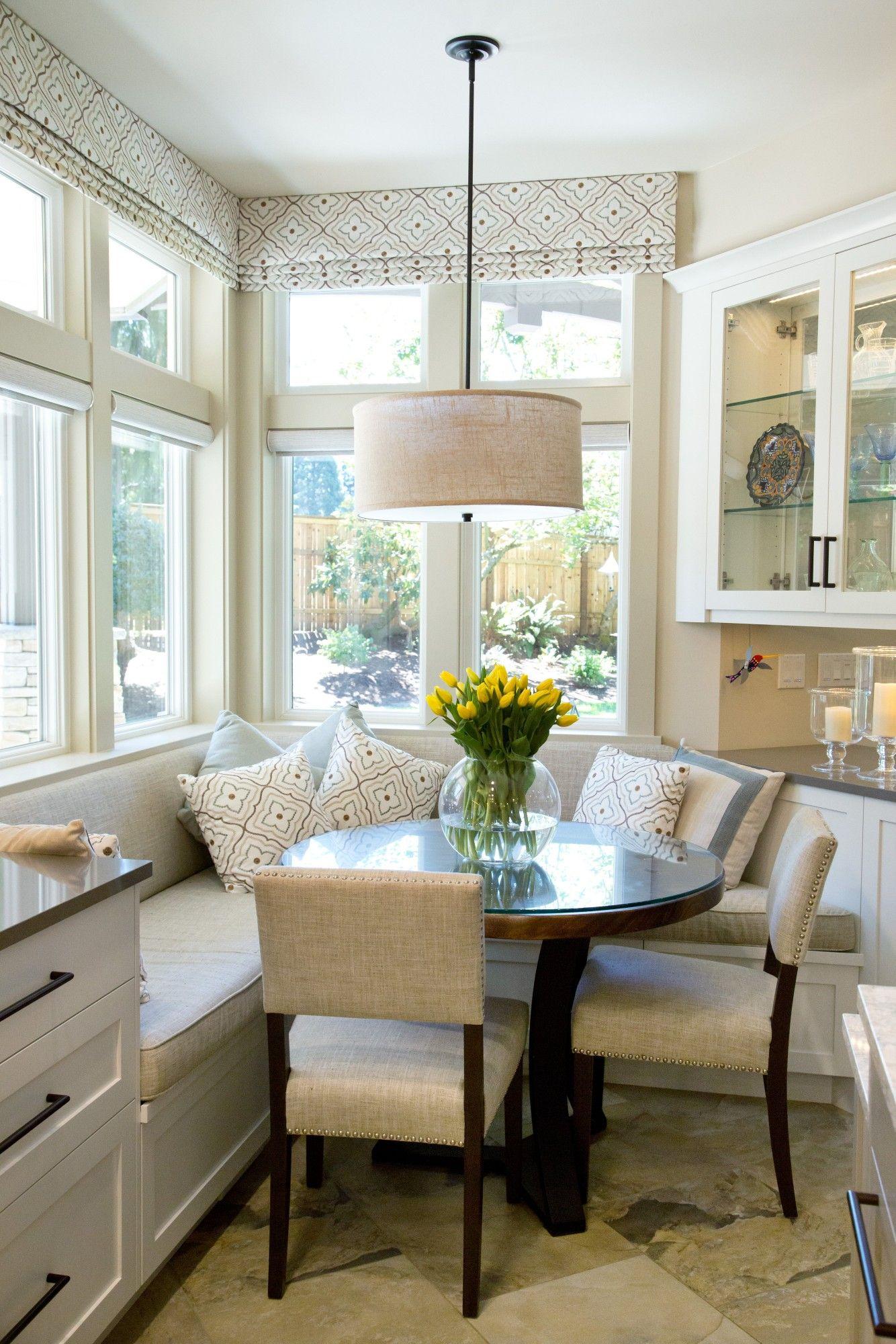 sunny breakfast nook designed by sheila mayden interiors kitchen nook comfortable kitchen on kitchen nook id=55661