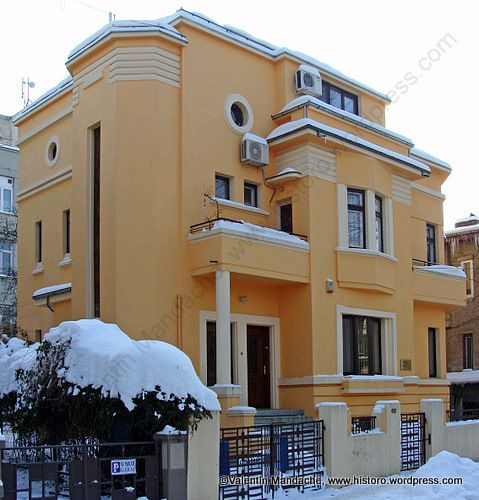 Art deco style house historic houses of romania also rh pinterest