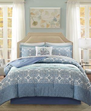 Madison Home Usa Essentials Sybil 9 Pc Queen Comforter