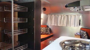 Orange racing stripes 17 ft. boler, closet insert.