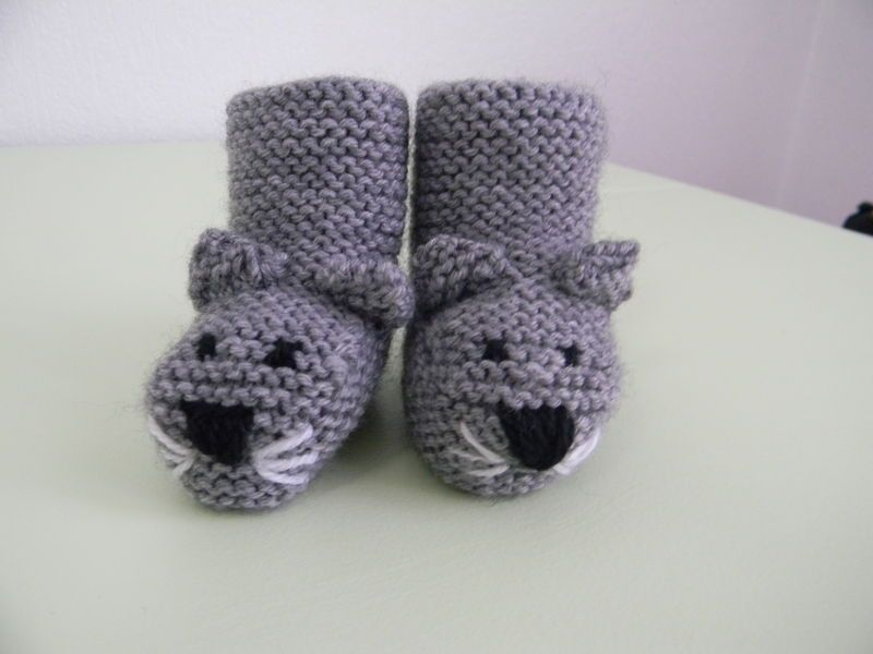 Gut bekannt Tutoriel: les chaussons chats | Baby shoes | Pinterest | Comment  OZ08