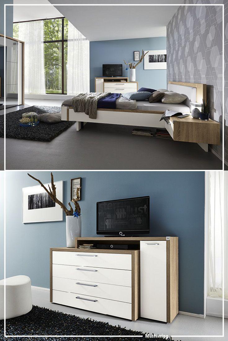 Dummy Tv Prop Musterring Iva Schlafzimmer Sleeping Room Display