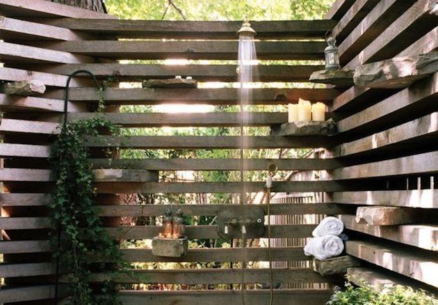 Außendusche außendusche gartengestaltung mit dusche im außenbereich garten