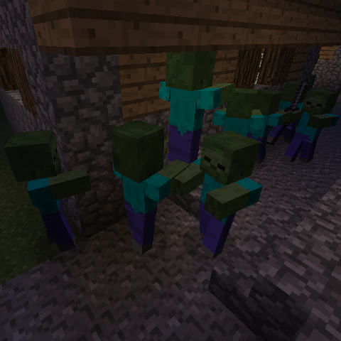 Lazy Zombies Mod 1 14 4 1 13 2 1 12 2 1 11 2 1 10 2 1 8 9 1 7 10 Minecraft Modpacks All Minecraft Minecraft Mods Minecraft 1