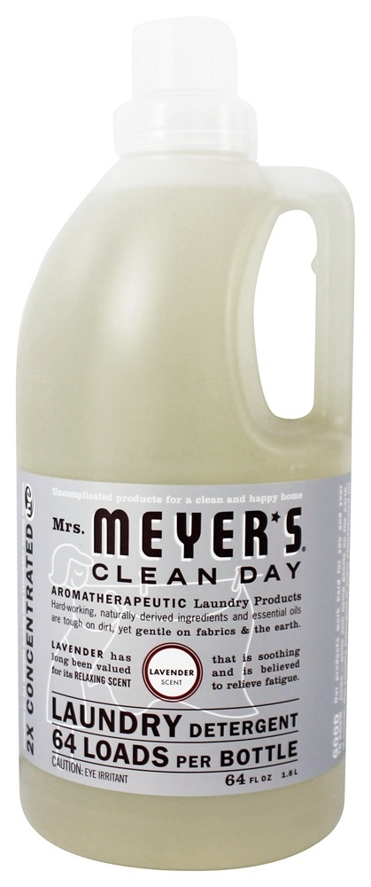 Mrs Meyer S Clean Day Laundry Detergent Concentrated 64 Loads