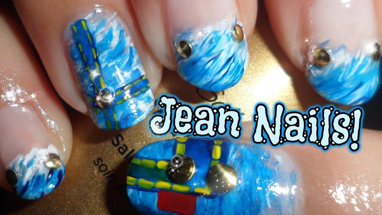 Easy Jean Nails Fan Brush Technique Nails Nail Art Madjennsy