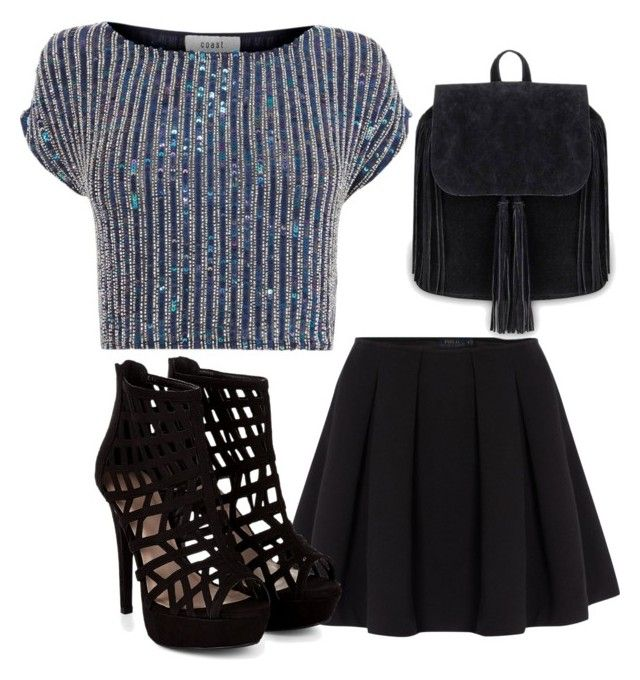 """""""Disco"""" by cicisquared on Polyvore featuring Coast and Polo Ralph Lauren"""