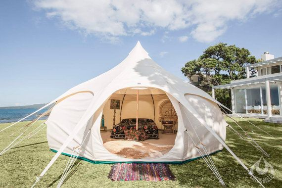 16ft Lotus Belle Original Tent With Burner By Lotusbelletents Tent Glamping Luxury Camping Tents Lotus Belle Tent