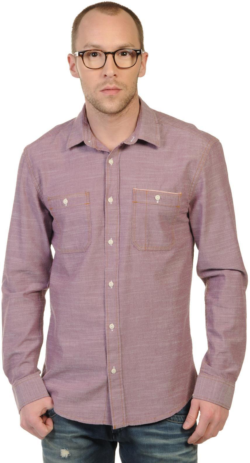 50% DESCUENTO - Selected Camisa Slim Fit - Hombre - rojo - S|M|L - clásico cuello Kent - SELECTED
