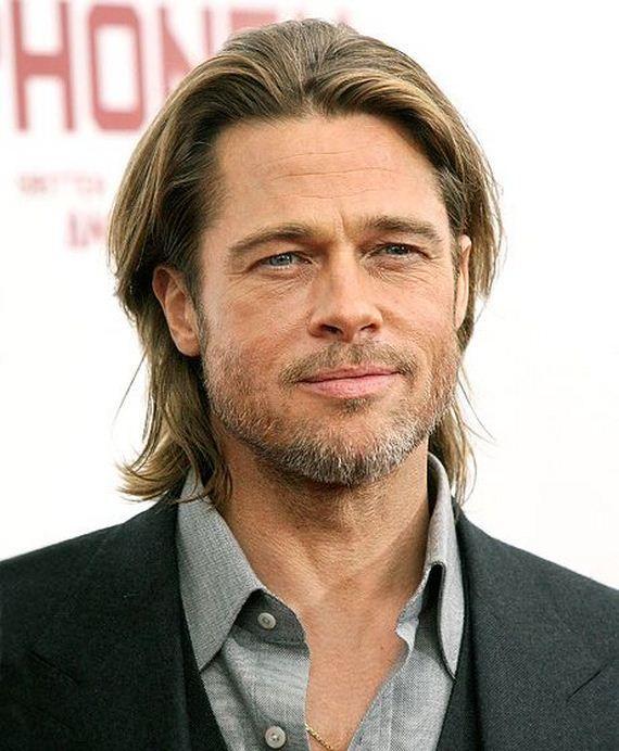 Long Hair Dont Care Brad Pitt Hair Brad Pitt Hair Evolution