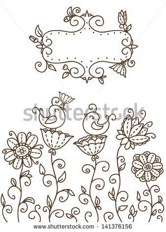 Passarinho Vetores e Vetores clipart Stock | Shutterstock