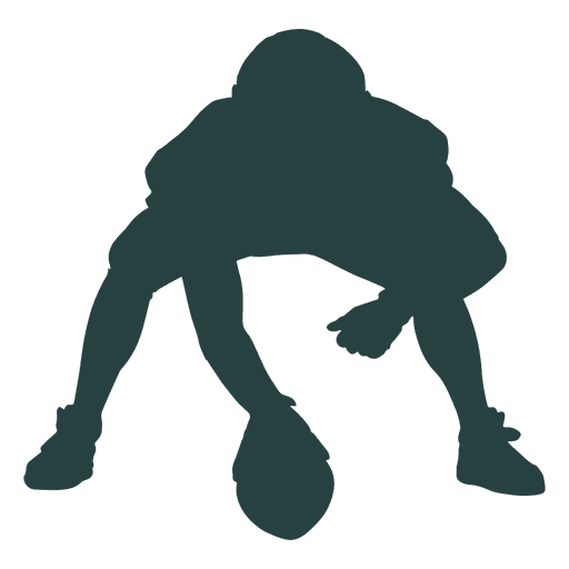 American Football Player Center Silhouette Ad Ad Ad Football Silhouette Center Ameri American Football Players American Football Football Players