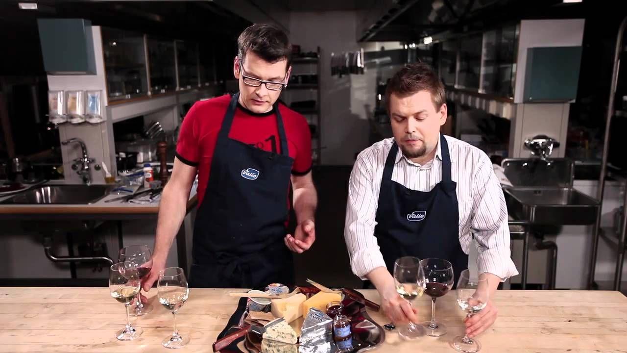 VIDEO: Jani Lamminperä ja Sami Garam kertovat hyvän juustotarjottimen kokoamisesta ja siihen sopivista viineistä.
