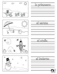 Las estaciones y el tiempo (season and weather) Tutorial | Sophia ...
