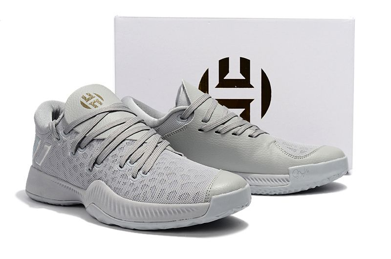 c26c1658da0a adidas Harden 2 B E Wolf Grey Pure Platinum James Harden Shoes 2017 ...