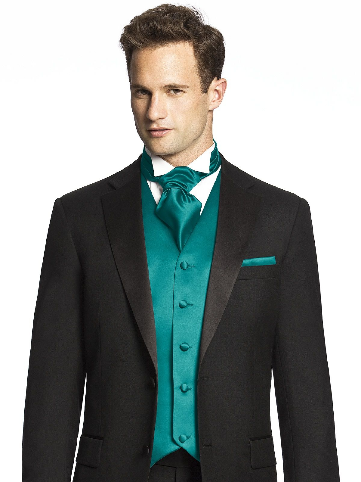 Jade Cravat in duchess satin | Fashion | Pinterest | Mens cravats ...