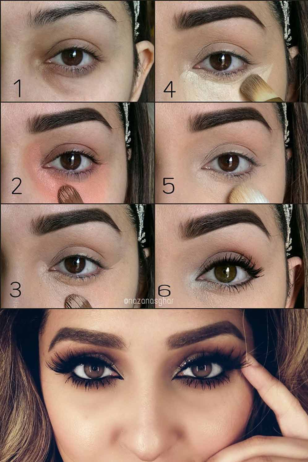 Best Way To Apply Under Eye Makeup