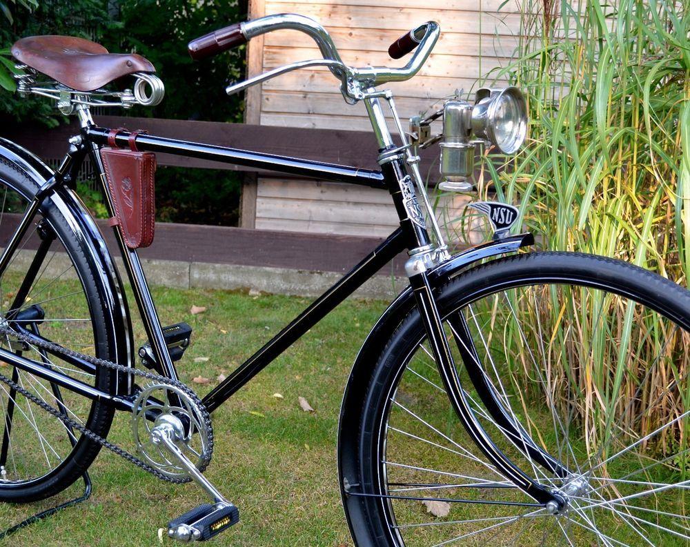 altes antikes oldtimer fahrrad nsu flux herrenrad ca 1937 kein miele kein adler bikes. Black Bedroom Furniture Sets. Home Design Ideas