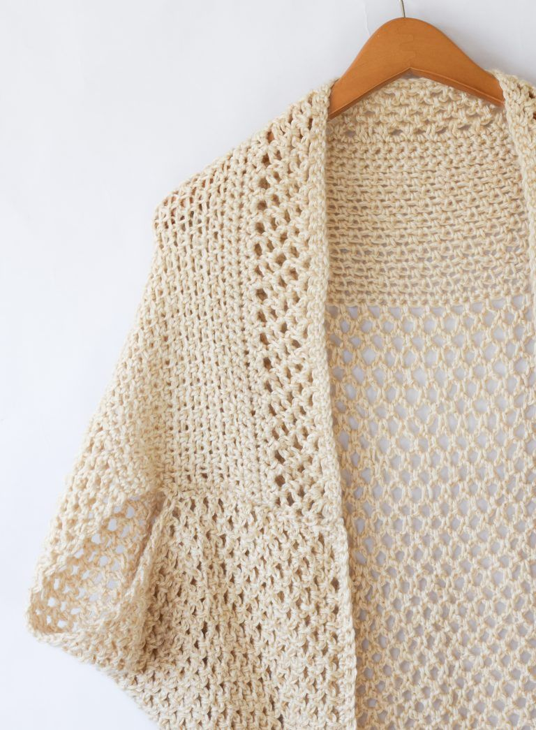 Mod Mesh Honey Blanket Sweater | Crochet patterns | Pinterest ...