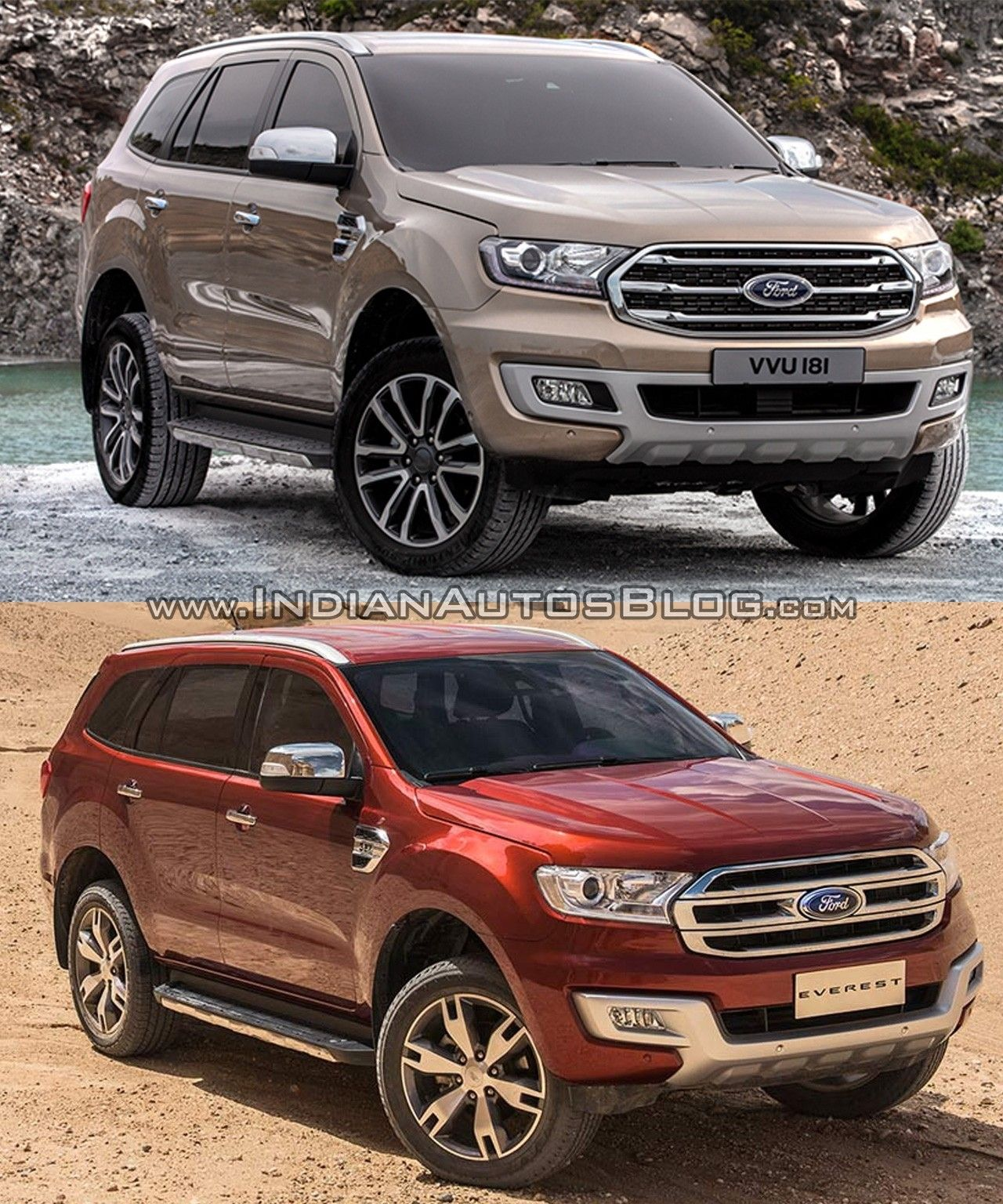 2019 Ford Everest Spy Shoot 2019 ford, Ford, Car