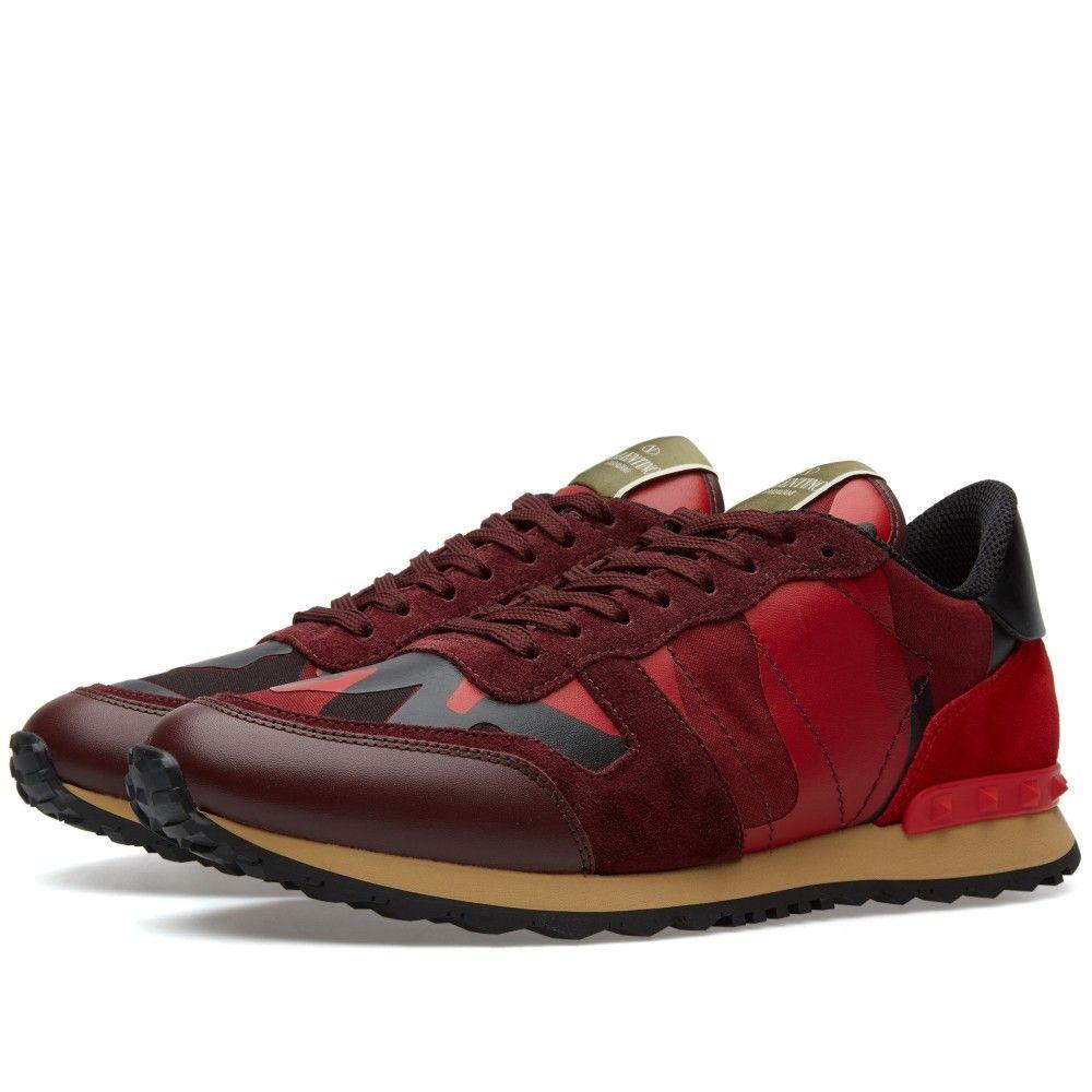new arrival 72dcd 3ea04 Valentino Rockrunner Sneaker (Red)