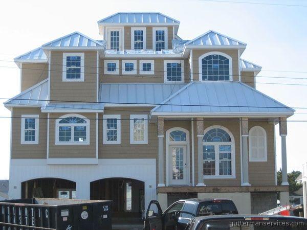 Best Englert Standing Seam Metal Roof In Bone White Installed 400 x 300