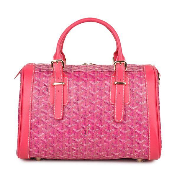 Top Design Goyard Tote Handbags 1126 Rose Outlet